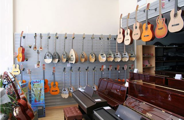 Larnaca District Music Stores - cyprus.com